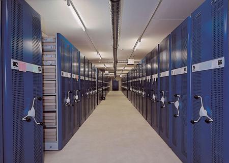 Regały przesuwne do archiwów Foreg 2000