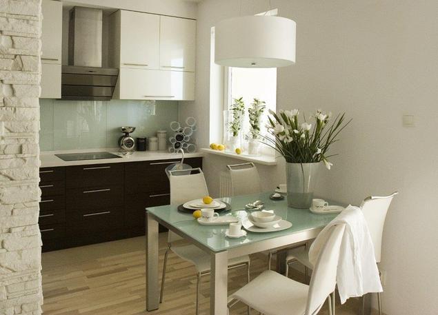 Zobacz galeri zdj aran acje kuchni z salonem for Polaczenie kuchni z salonem