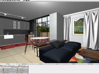 Projekt i wizualizacja wykonana w CAD Decor PRO