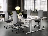 Fotele obrotowe Capella – ruch podczas siedzenia