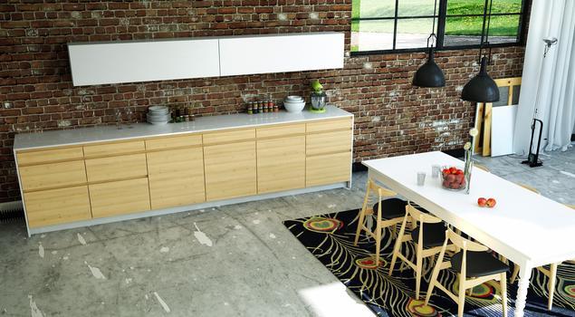 Kuchnia i jadalnia w stylu loft. Lampy industrialne i inne składniki udanej aranżacji