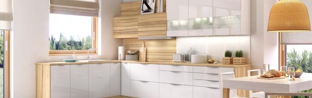 Biała kuchnia – 4 pomysły na meble kuchenne w białym kolorze