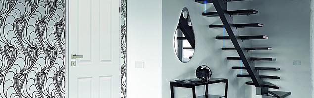 Białe drzwi wewnętrzne do tworzenia unikalnych aranżacji wnętrz