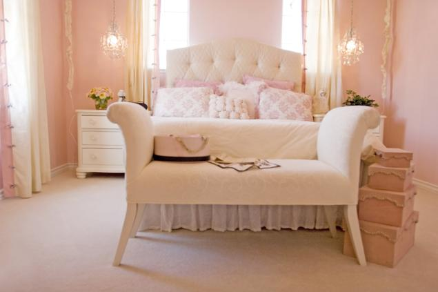 Zobacz galerię zdjęć Pomysł na sypialnię. Romantyczna sypialnia  Stronywnętrza.pl